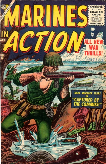 Marines in Action 6 Cover Image