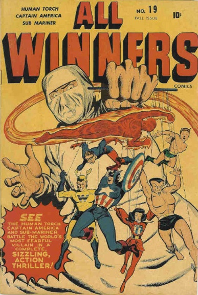 All Winners Comics 19 Cover Image