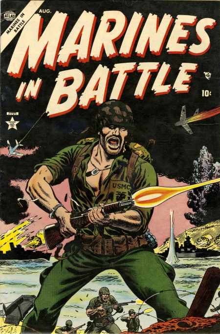 Marines in Battle 1 Cover Image