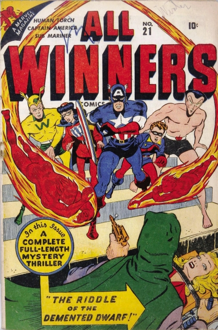 All Winners Comics 21 Cover Image