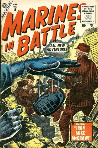 Marines in Battle 5 Cover Image