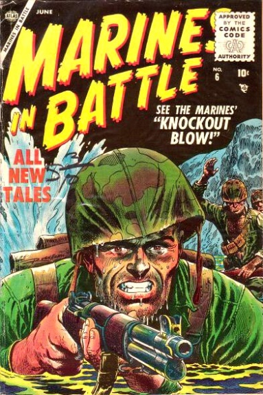 Marines in Battle 6 Cover Image