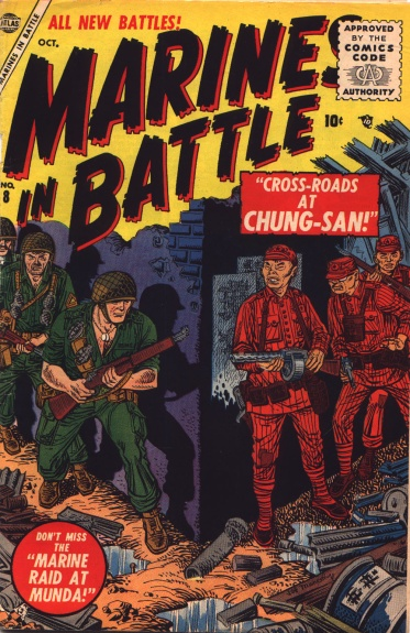 Marines in Battle 8 Cover Image