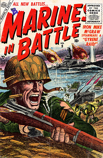 Marines in Battle 9 Cover Image