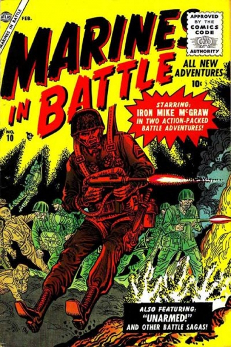 Marines in Battle 10 Cover Image