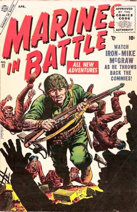 Marines in Battle 11 Cover Image