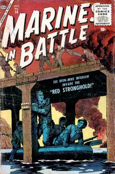 Marines in Battle 14 Cover Image