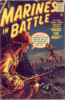 Marines in Battle 15 Cover Image