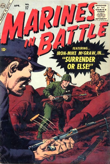 Marines in Battle 17 Cover Image