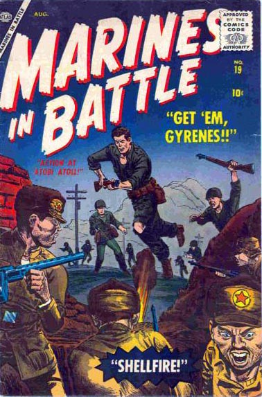 Marines in Battle 19 Cover Image
