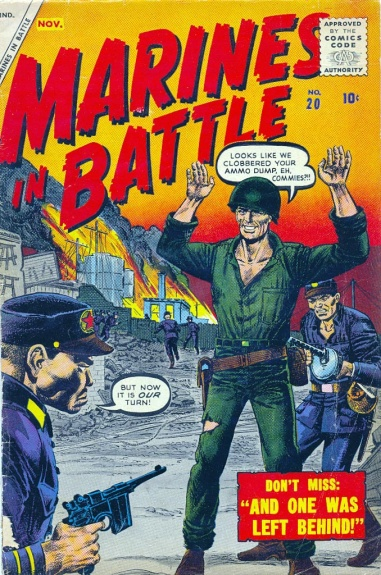 Marines in Battle 20 Cover Image