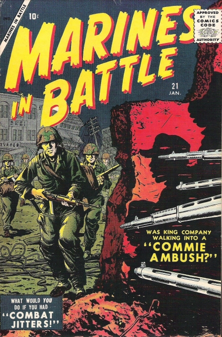 Marines in Battle 21 Cover Image