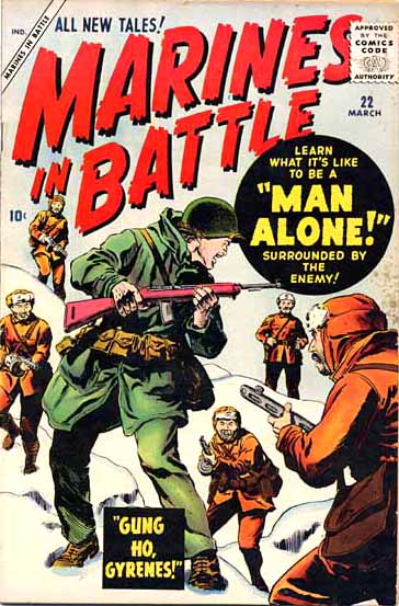 Marines in Battle 22 Cover Image