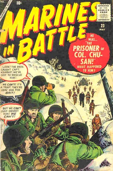 Marines in Battle 23 Cover Image