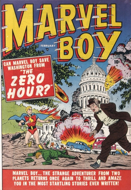 Marvel Boy 2 Cover Image