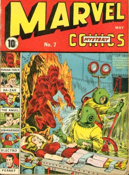 Marvel Mystery Comics 7 Cover Image
