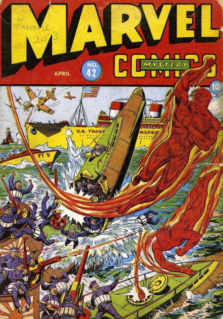 Marvel Mystery Comics 42 Cover Image