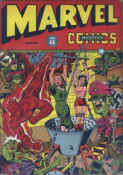 Marvel Mystery Comics 46 Cover Image