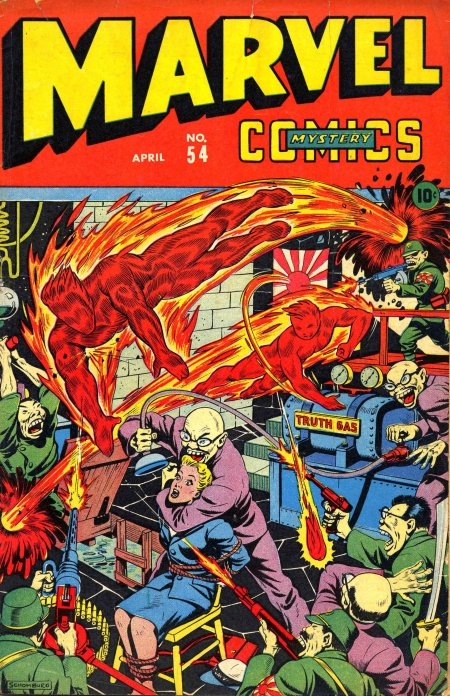 Marvel Mystery Comics 54 Cover Image