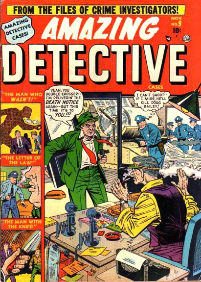 Amazing Detective Cases 9 Cover Image