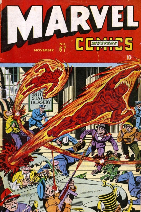 Marvel Mystery Comics 67 Cover Image