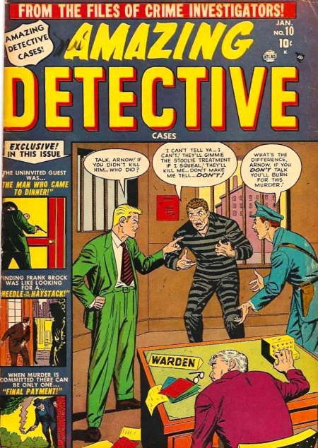 Amazing Detective Cases 10 Cover Image
