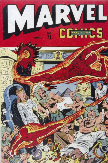 Marvel Mystery Comics 71 Cover Image