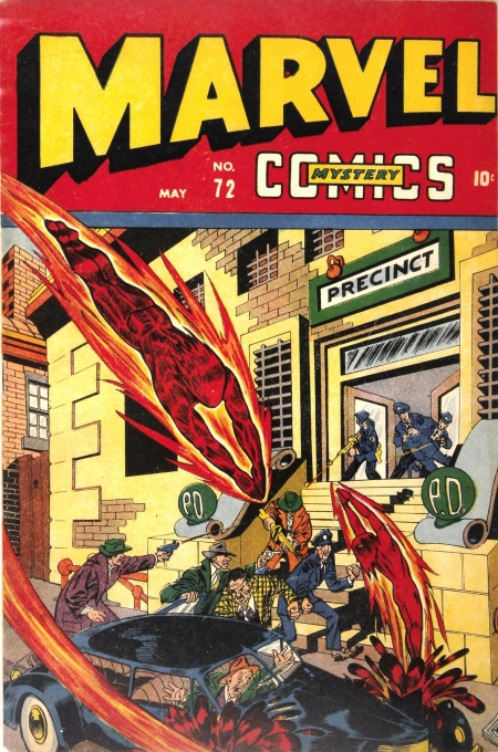Marvel Mystery Comics 72 Cover Image