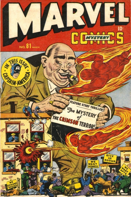Marvel Mystery Comics 81 Cover Image