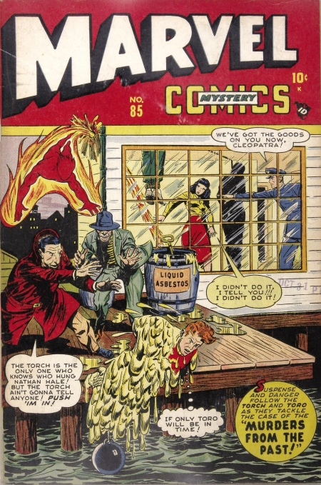 Marvel Mystery Comics 85 Cover Image