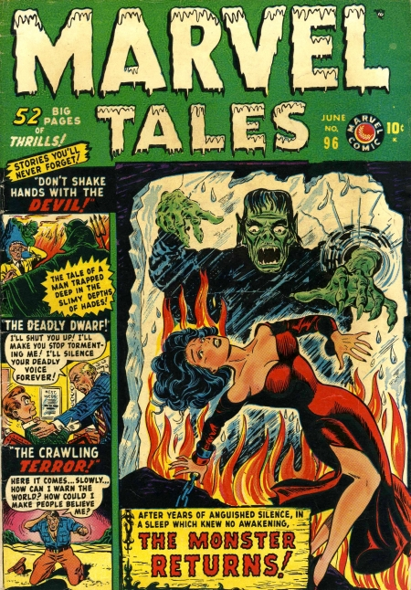 Marvel Tales 96 Cover Image