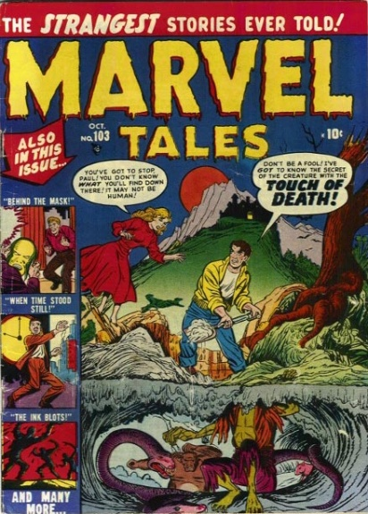 Marvel Tales 103 Cover Image