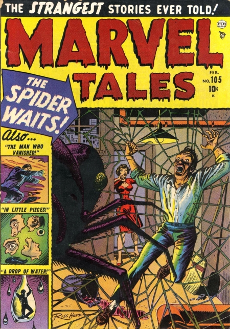 Marvel Tales 105 Cover Image