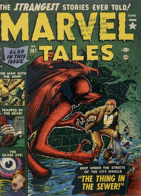 Marvel Tales 107 Cover Image