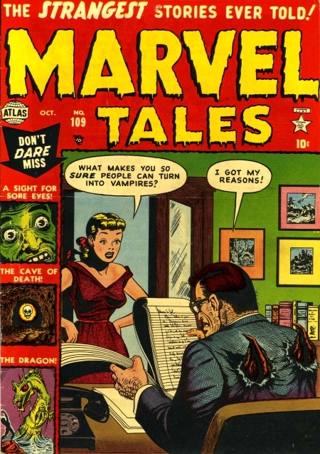 Marvel Tales 109 Cover Image