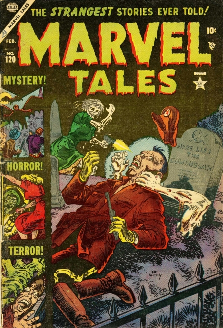 Marvel Tales 120 Cover Image