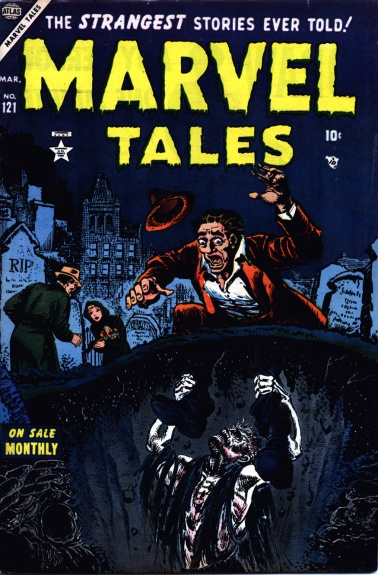 Marvel Tales 121 Cover Image