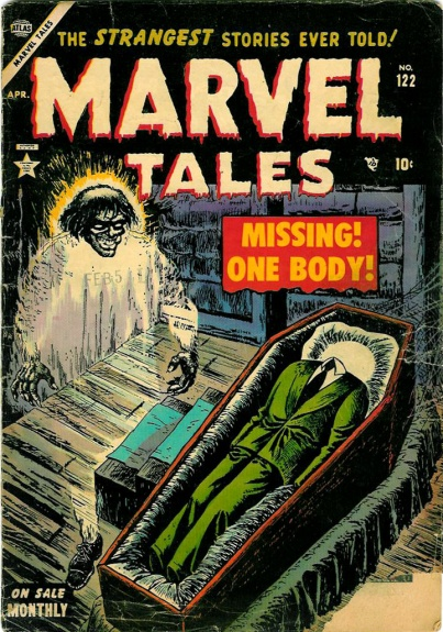Marvel Tales 122 Cover Image