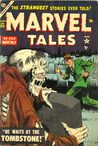 Marvel Tales 124 Cover Image