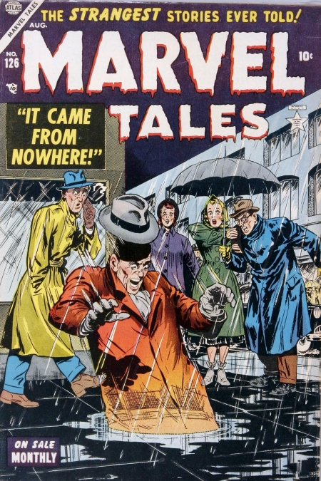 Marvel Tales 126 Cover Image