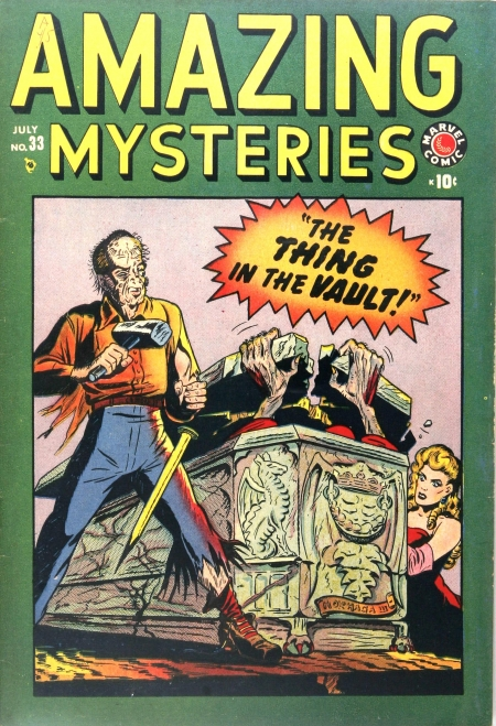 Amazing Mysteries 33 Cover Image
