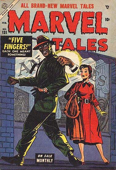 Marvel Tales 131 Cover Image