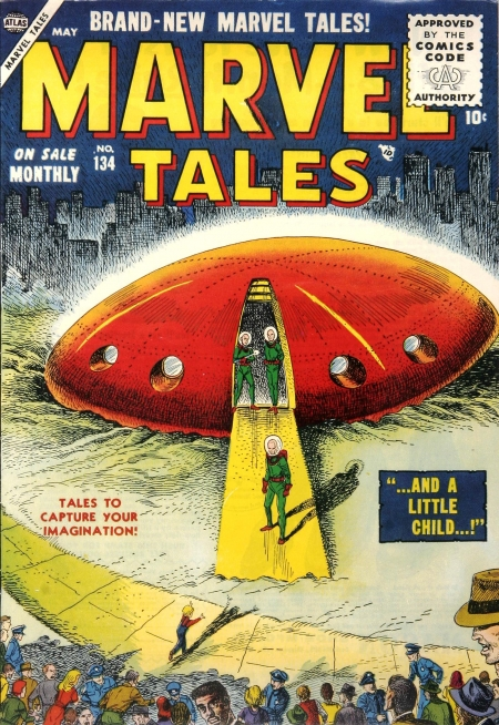Marvel Tales 134 Cover Image