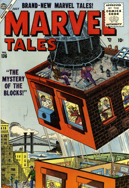 Marvel Tales 136 Cover Image