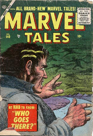 Marvel Tales 140 Cover Image