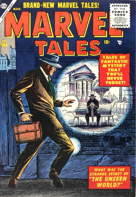 Marvel Tales 144 Cover Image