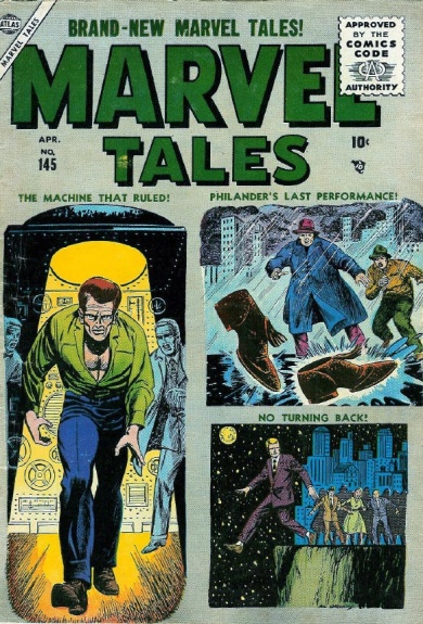 Marvel Tales 145 Cover Image