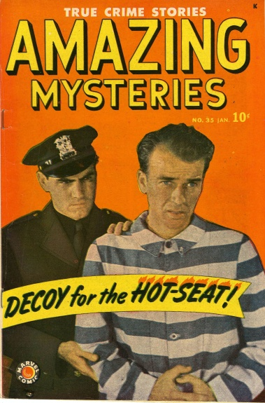 Amazing Mysteries 35 Cover Image