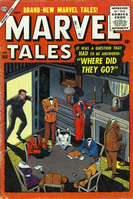 Marvel Tales 148 Cover Image