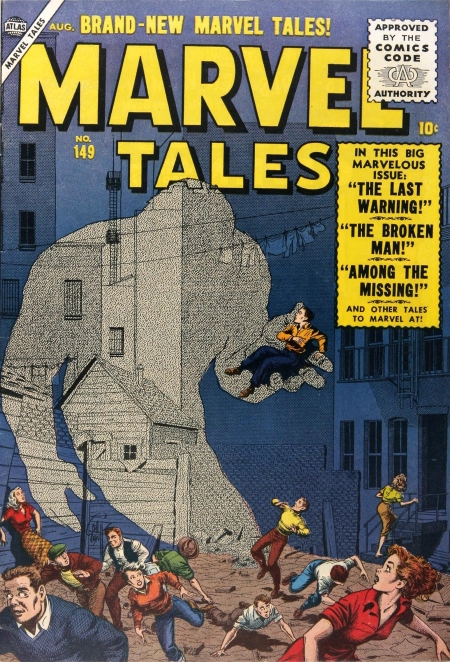 Marvel Tales 149 Cover Image